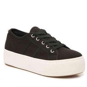 Steve Madden Black Platform Sneaker